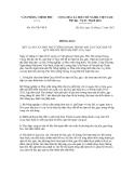 Thông báo số 431/TB-VPCP