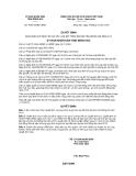 Quyết định số 76/2012/QĐ-UBND