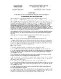Quyết định số 3388/2012/QĐ-UBND