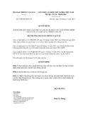 Quyết định số 3290/QĐ-BGTVT