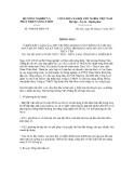 Thông báo số 5964/TB-BNN-VP