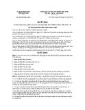Quyết định số 55/2012/QĐ-UBND