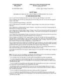 Quyết định số 26/2012/QĐ-UBND