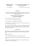 Nghị quyết số 72/NQ-HĐND