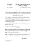 Quyết định số 1193/QĐ-BXD