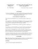 Quyết định số 1774/QĐ-UBND