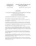 Quyết định số 2547/QĐ-UBND