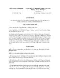 Quyết định số 2098/QĐ-TTg