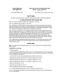Quyết định số 4194/2012/QĐ-UBND