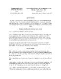 Quyết định số 3288/2012/QĐ-UBND