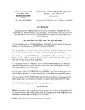 Quyết định số 1661/QĐ-HQHCM