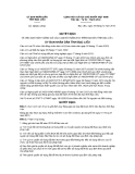 Quyết định số 29/QĐ-UBND