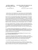 Thông báo số 6509/TB-BNN-VP