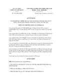 Quyết định số 3125/QĐ-TCHQ