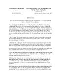 Thông báo số 427/TB-VPCP