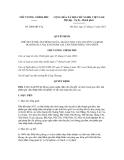 Quyết định số 2088/QĐ-TTg