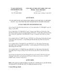 Quyết định số 5791/QĐ-UBND