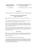 Nghị quyết số 21/NQ-HĐND