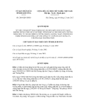 Quyết định số 2869/QĐ-UBND