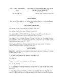 Quyết định số 1893/QĐ-TTg