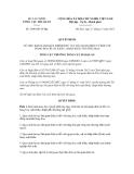 Quyết định số 3046/QĐ-TCHQ
