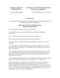 Nghị quyết số 45/2012/NQ-HĐND