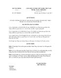Quyết định số 3257/QĐ-BTC
