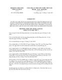 Nghị quyết số 33/2012/NQ-HĐND
