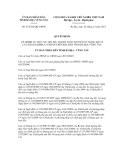Quyết định số: 47/2012/QĐ-UBND