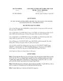 Quyết định số 3065/QĐ-BTC