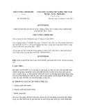 Quyết định số 1894/QĐ-TTg