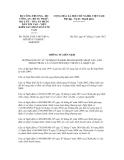 Thông tư sốThông tư liên tịch số 36/2012/TTLT-BCT-BCABTP-BYT-TANDTCVKSNDTC