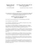 Nghị quyết số 34/2012/NQ-HĐND