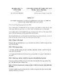 Thông tư số 25/2012/TT-BKHCN
