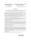 Thông báo số 6404/TB-BNN-VP