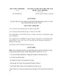 Quyết định số 1829/QĐ-TTg