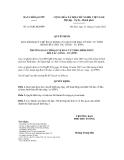 Quyết định số 161/QĐ-BCĐPPP