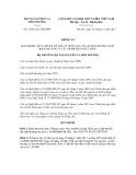 Thông tư số 23/2012/TT-BTNMT