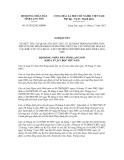 Nghị quyết số 95/2012/NQ-HĐND