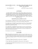 Quyết định số  3189/QĐ-BGTVT