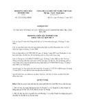 Nghị quyết số 23/2012/NQ-HĐND