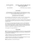 Quyết định số 8142/QĐ-BCT