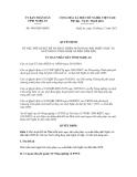 Quyết định số 5495/QĐ-UBND