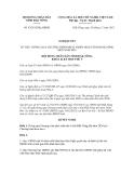 Nghị quyết số 42/2012/NQ-HĐND