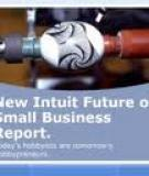 INTUIT FUTURE OF SMALL BUSINESS REPORT  FIRST  INSTALLMENT: dEMOgRAPHIc TRENdS ANd SMALL BUSINESS