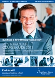 BUSINESS & INFORMATION TECHNOLOGY: POSTGRADUATE COURSE GUIDE 2013