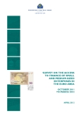 SURVEY ON THE ACCESS  TO FINANCE OF SMALL AND MEDIUM-SIZED ENTERPRISES IN THE EURO AREA