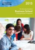 The University of Auckland  Business School Undergraduate Prospectus 2013