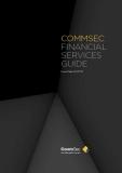 COMMSEC FINANCIAL SERVICES GUIDE