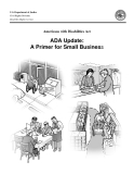 Americans with Disabilities Act - ADA Update:  A Primer for Small Business
